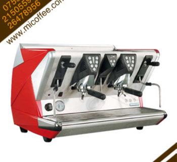 La San Marco 100E圣马可标版双头半自动电控商用咖啡机