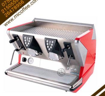 La San Marco 100E圣马可窄版双头半自动电控商用咖啡机