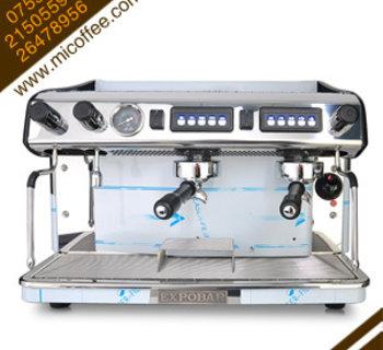 EXPOBAR爱宝megacrem 2gre双头电控商用高杯半自动咖啡机