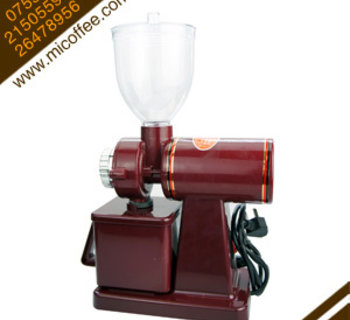 小飞鹰电动磨豆机 家用咖啡豆研磨机 商用半磅磨粉机可调粗细