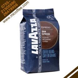 原装进口意大利lavazza拉瓦萨咖啡豆 GRAD意式特浓型可磨粉1kg