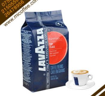 意大利原装进口拉瓦萨咖啡豆lavazza TOP CLASS红标牌意式经典1kg
