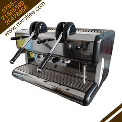 二手意大利圣马可La san marco 85 2GR拉杆双头半自动咖啡机