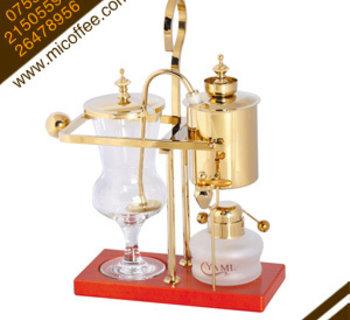 YAMI三代金色/银色皇家比利时咖啡壶