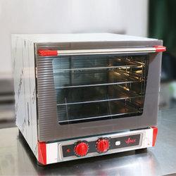 意大利VENIX4盘机械热回风喷湿风炉/烤箱T043MH.1