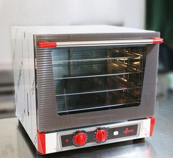 意大利VENIX4盘机械热回风喷湿风炉/烤箱T043MHT
